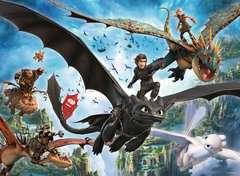 Puzzle 100 p XXL - Le monde caché / Dragons 3 - Image 2 - Cliquer pour agrandir