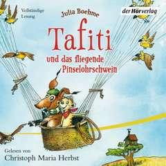 Tafiti und das fliegende Pinselohrschwein - Bild 1 - Klicken zum Vergößern