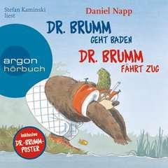 Dr. Brumm geht baden / Dr. Brumm fährt Zug - Bild 1 - Klicken zum Vergößern