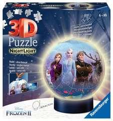 Puzzle 3D rond 72 p illuminé - Disney La Reine des Neiges 2 - Image 1 - Cliquer pour agrandir