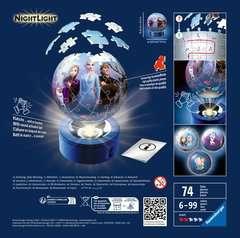 Puzzle 3D rond 72 p illuminé - Disney La Reine des Neiges 2 - Image 2 - Cliquer pour agrandir