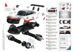 Porsche GT3 Cup 3D Puzzle, 108pc - Billede 2 - Klik for at zoome