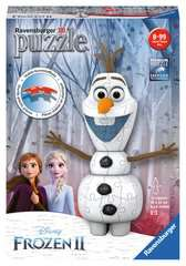 Frozen 2, Olaf Shaped 3D Puzzle, 54pc - image 1 - Click to Zoom