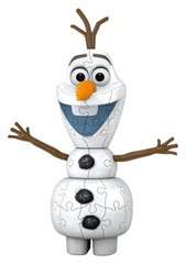 Frozen 2, Olaf Shaped 3D Puzzle, 54pc - image 2 - Click to Zoom