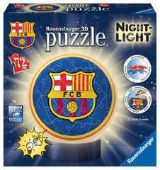 Puzzle 3D rond 72 p illuminé - FC Barcelone - Image 1 - Cliquer pour agrandir