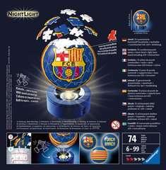 Puzzle 3D rond 72 p illuminé - FC Barcelone - Image 2 - Cliquer pour agrandir