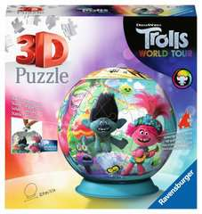 Trolls 2 World Tour 3D Puzzle, 72pc - image 1 - Click to Zoom