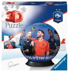 Puzzle 3D rond 72 p - Fédération Française de Football - Image 1 - Cliquer pour agrandir