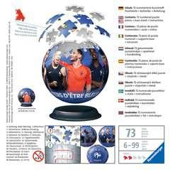Puzzle 3D rond 72 p - Fédération Française de Football - Image 2 - Cliquer pour agrandir