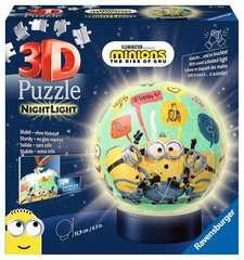 Puzzle 3D rond 72 p illuminé - Minions 2 - Image 1 - Cliquer pour agrandir