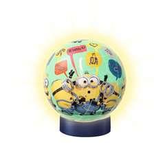 Puzzle 3D rond 72 p illuminé - Minions 2 - Image 2 - Cliquer pour agrandir