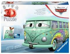 Ravensburger Disney Cars Pixar Cars Filmore VW Camper Van 162 piece 3D Jigsaw Puzzle for Kids age 8 years and up. These puzzles make ideal VW Camper Van Gifts - Billede 1 - Klik for at zoome