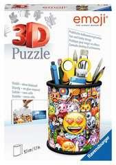 Puzzle 3D Pot à crayons - emoji - Image 1 - Cliquer pour agrandir