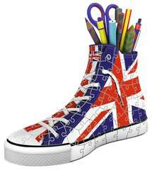 Union Jack Sneaker 3D Puzzle, 108pc - image 2 - Click to Zoom