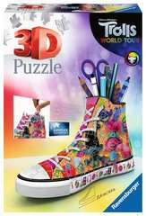 Trolls 2 World Tour Sneaker 3D Puzzle, 108pc - image 1 - Click to Zoom