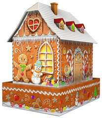 Gingerbread House 3D Puzzle, 216pc - Billede 3 - Klik for at zoome