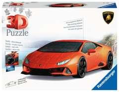 Puzzle 3D Lamborghini Huracán EVO - Image 1 - Cliquer pour agrandir