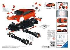 Puzzle 3D Lamborghini Huracán EVO - Image 2 - Cliquer pour agrandir