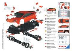 Ravensburger Puzzle 3D - Lamborghini Huracán EVO - imagen 2 - Haga click para ampliar