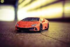 Puzzle 3D Lamborghini Huracán EVO - Image 14 - Cliquer pour agrandir