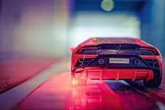 Puzzle 3D Lamborghini Huracán EVO - Image 23 - Cliquer pour agrandir