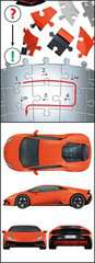 Ravensburger Puzzle 3D - Lamborghini Huracán EVO - imagen 5 - Haga click para ampliar