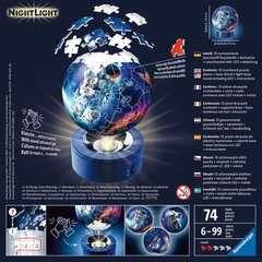 Puzzle 3D Ball 72 p illuminé - Les astronautes - Image 2 - Cliquer pour agrandir