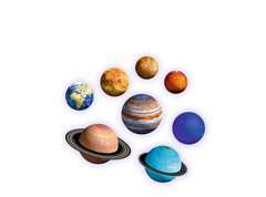 Planetary Solar System 3D Puzzle - image 5 - Click to Zoom