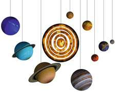 Planetary Solar System 3D Puzzle - image 6 - Click to Zoom
