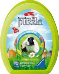 Œuf de Pâques - Puzzle 3D rond 72 p - Image 1 - Cliquer pour agrandir