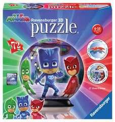 Puzzle 3D rond 72 p - Pyjamasques - Image 1 - Cliquer pour agrandir