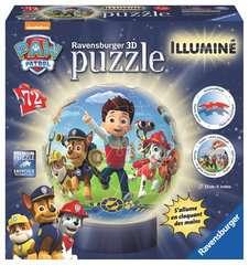 Puzzle 3D rond 72 p illuminé - Pat'Patrouille - Image 1 - Cliquer pour agrandir
