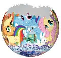 Puzzle 3D rond 72 p - My little Pony - Image 3 - Cliquer pour agrandir