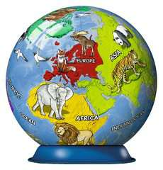 Puzzle 3D Kula: Dziecinny globus 72 elementy - Zdjęcie 3 - Kliknij aby przybliżyć