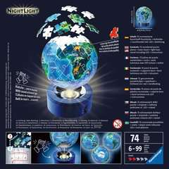 Earth by Night, 72pcs 3D Nightlight Jigsaw Puzzle - Billede 2 - Klik for at zoome
