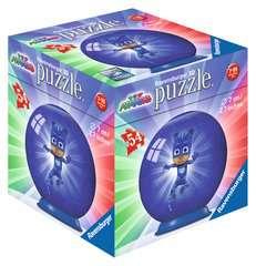 Puzzles 3D rond 54 p - Pyjamasques - 3 motifs - Image 1 - Cliquer pour agrandir