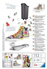 Puzzle 3D Sneaker - Disney Mickey Mouse - Image 2 - Cliquer pour agrandir