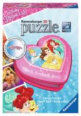 Disney Princess Heart Shaped 3D Puzzle, 54pc - image 1 - Click to Zoom
