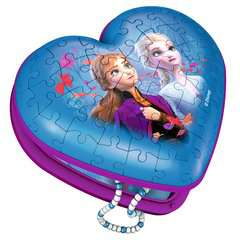Frozen 2, Heart Shaped 3D Puzzle, 54pc - image 2 - Click to Zoom