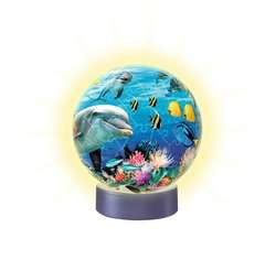 Nachtlicht Unterwasser 3D Puzzle;3D Puzzle-Ball - Bild 2 - Ravensburger