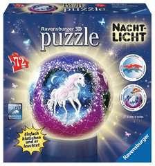 Nachtlicht Magische Einhörner 3D Puzzle;3D Puzzle-Ball - Bild 1 - Ravensburger