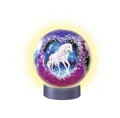 Nachtlicht Magische Einhörner 3D Puzzle;3D Puzzle-Ball - Bild 2 - Ravensburger