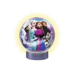 FROZEN PUZZLE 3D-LAMPKA KULA - Zdjęcie 2 - Kliknij aby przybliżyć