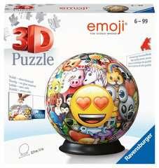 Puzzle 3D rond 72 p - emoji - Image 1 - Cliquer pour agrandir