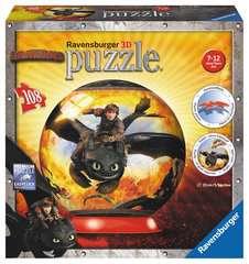 Drachenzähmen leicht gemacht 2 3D Puzzle;3D Puzzle-Ball - Bild 1 - Ravensburger