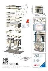 Puzzle 3D Arc de Triomphe - Image 2 - Cliquer pour agrandir