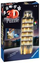 Leaning Tower of Pisa, Night Edition 3D Puzzle®, 216pc - bilde 1 - Klikk for å zoome