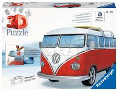 VW T1 Campervan 3D Puzzle®, 162pc - image 1 - Click to Zoom