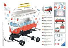 VW T1 Campervan 3D Puzzle®, 162pc - image 2 - Click to Zoom