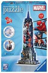 Marvel Empire State Building 3D Puzzle;3D Puzzle-Bauwerke - Bild 1 - Ravensburger